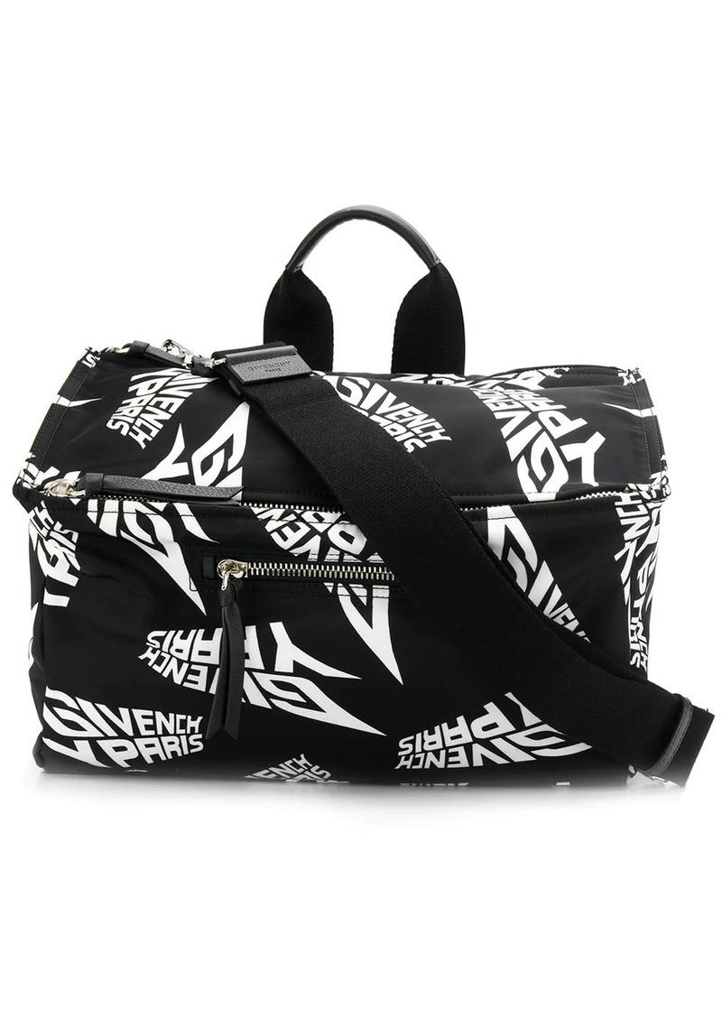 Givenchy logo print tote bag