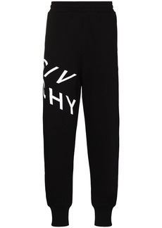 Givenchy logo-print cotton track pants