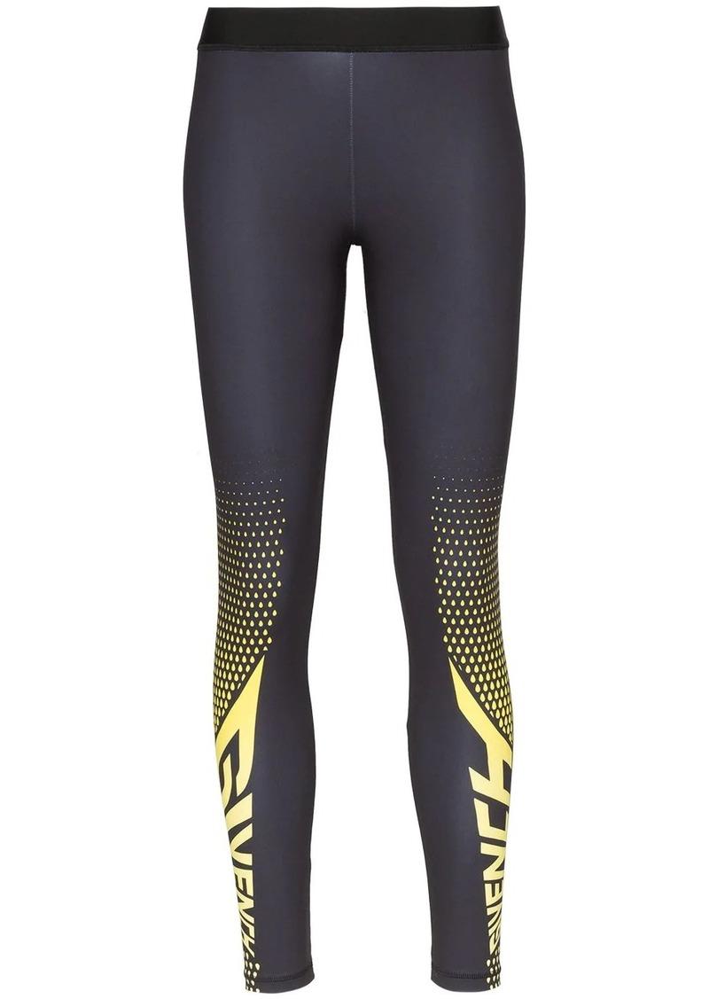 Givenchy logo printed leggings