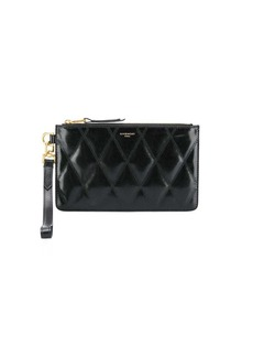 Givenchy logo quilted wallet