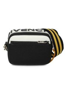 Givenchy Reversible Logo Leather Crossbody Bag