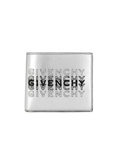 Givenchy logo shading bi-fold wallet