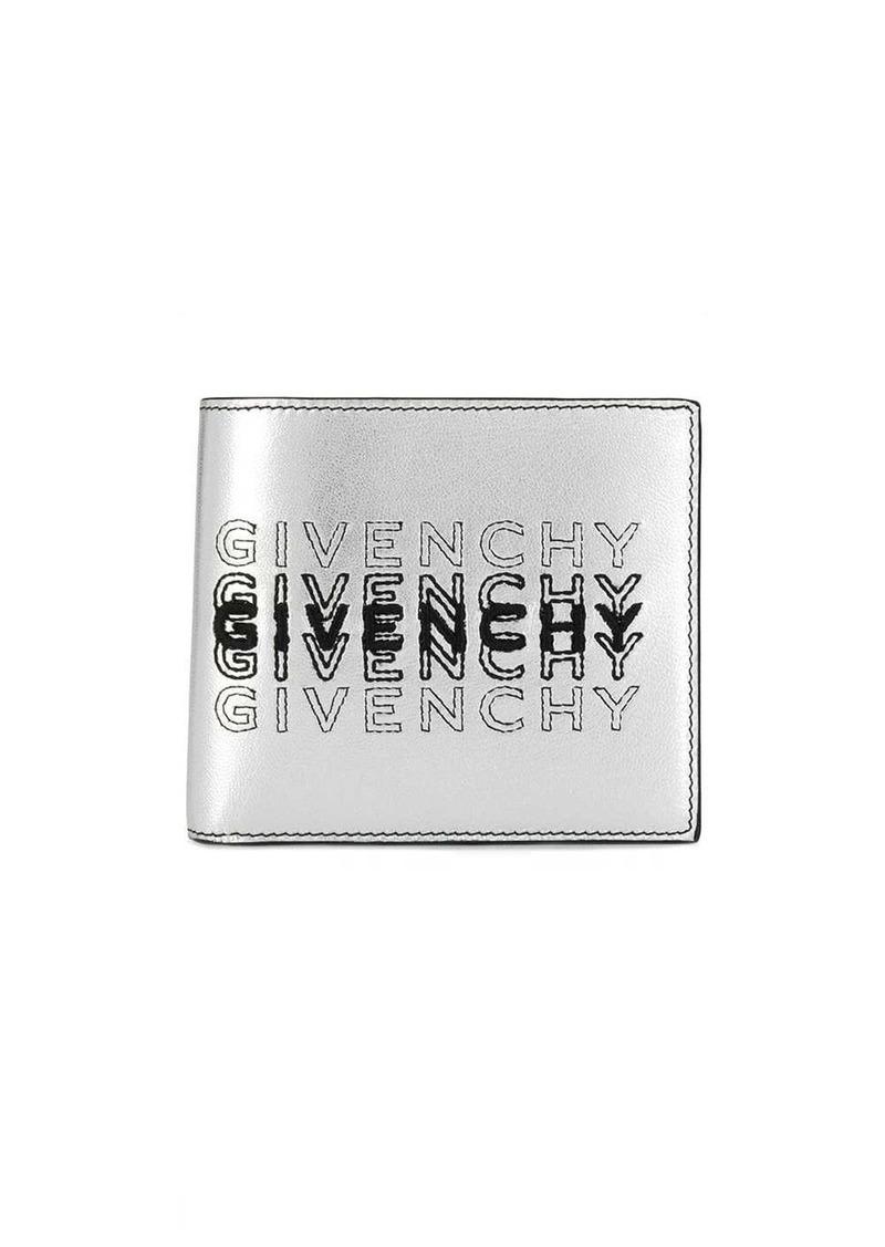 logo shading bi-fold wallet