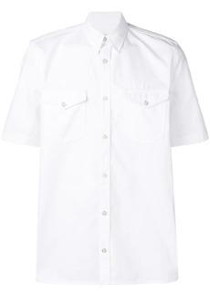 Givenchy logo side-stripe shirt
