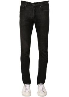 Givenchy Logo Slim Fit Stretch Cotton Denim Jeans