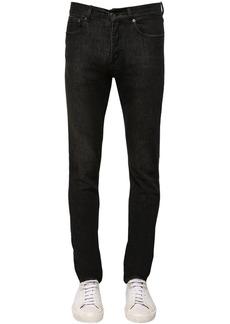 Givenchy Logo Slim Fit Stretch Cotton Denim Jeans