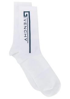 Givenchy logo socks