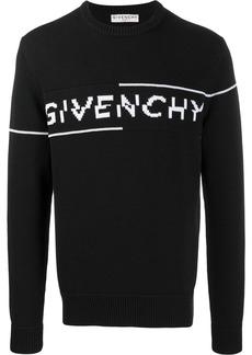 Givenchy logo split jumper