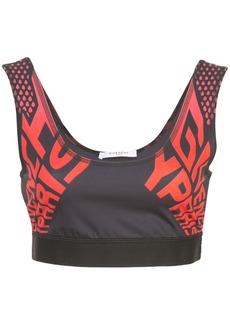 Givenchy logo sports bra top