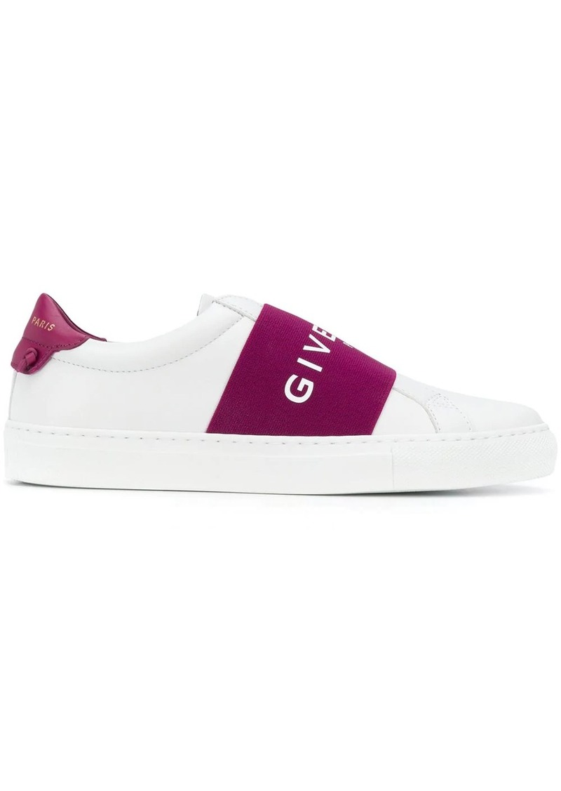 Givenchy logo strap sneakers