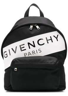 Givenchy logo stripe backpack