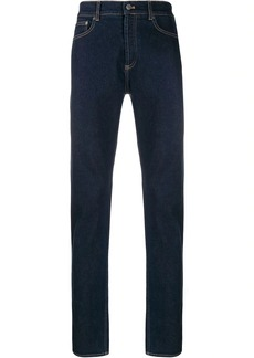 Givenchy logo stripe jeans