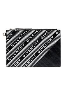 Givenchy logo stripe pouch
