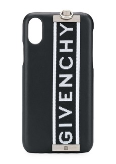 Givenchy logo tag iPhone X case