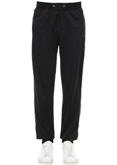 Givenchy Logo Tape Jersey Track Suit Pants