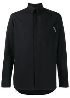 Givenchy logo trim shirt