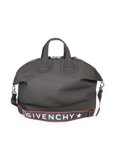 Givenchy Logo Zip Duffel Bag