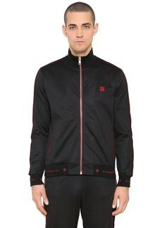 Givenchy Logo Zip-up Jersey Track Jacket
