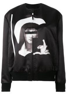 Givenchy Madonna printed bomber jacket