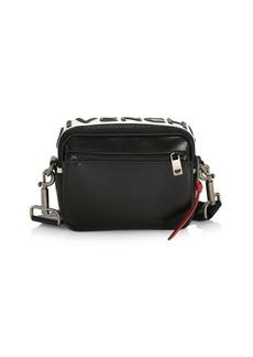 Givenchy MC3 Slim Leather Crossbody Bag