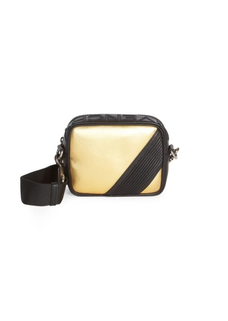 Givenchy MC3 Two-Tone Mini Leather Crossbody Bag