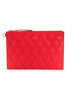 Givenchy medium diamond quilted clutch