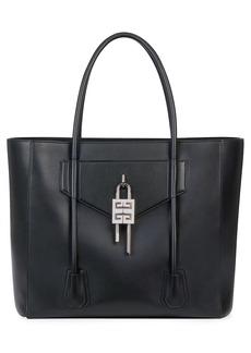 Men's Givenchy Antigona Lock Soft Leather Tote - Black