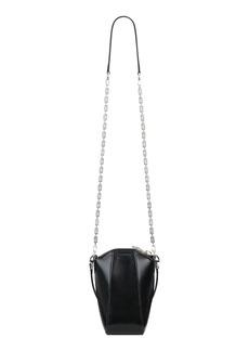 Men's Givenchy Antigona Mini Vertical Leather Crossbody Bag - Black