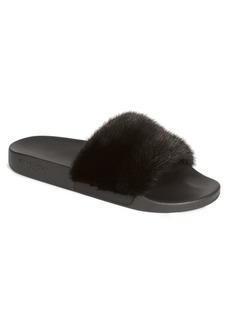 Givenchy Men's Mink Fur Slides