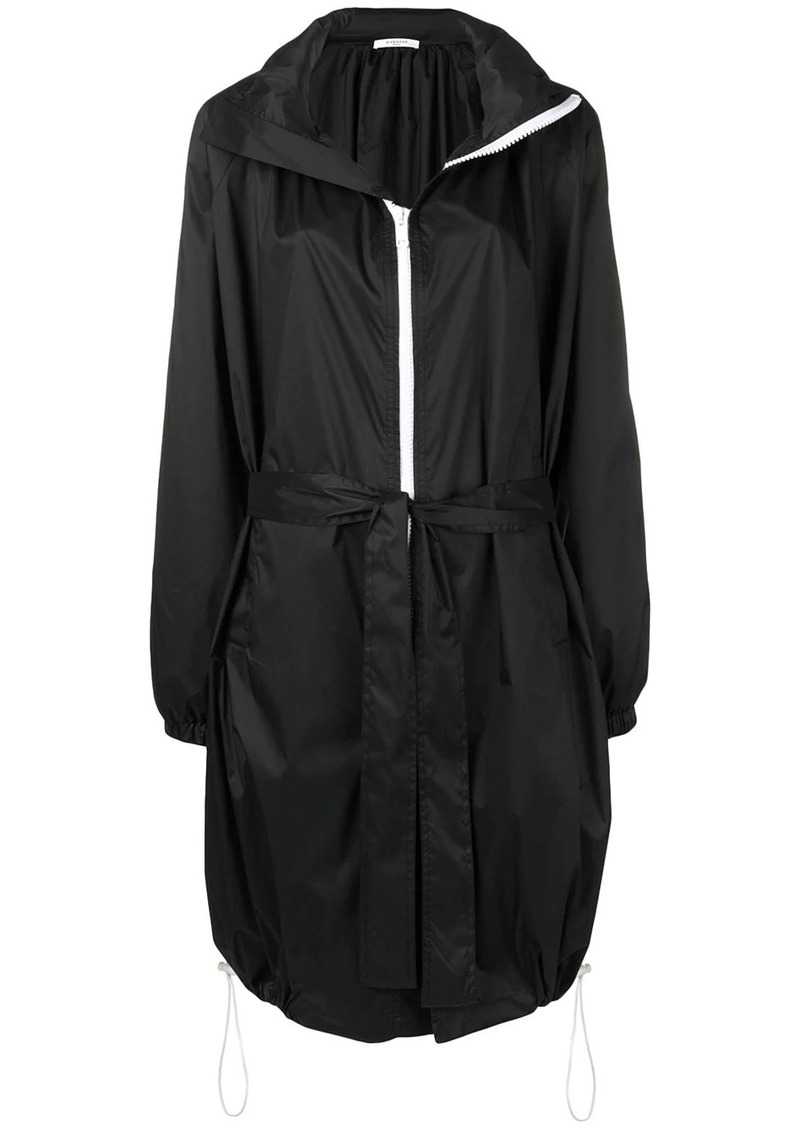 Givenchy mid-length belted raincoat