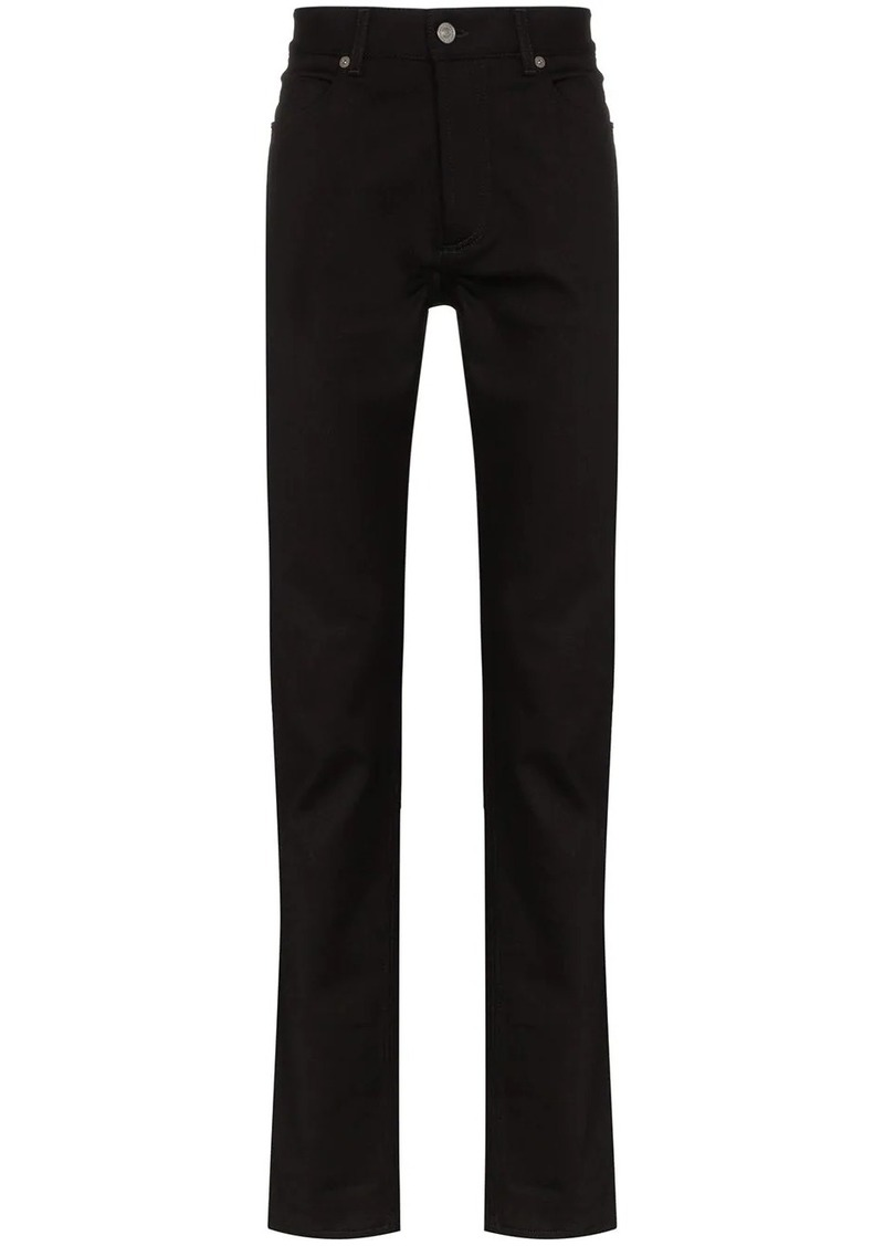 Givenchy mid-rise straight-leg jeans