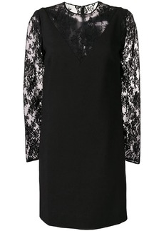 Givenchy mini floral lace dress