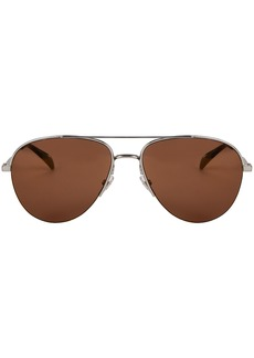 Givenchy Mirrored Aviator Sunglasses