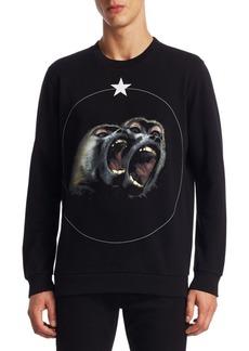 Givenchy Monkey Brothers Cotton Sweatshirt