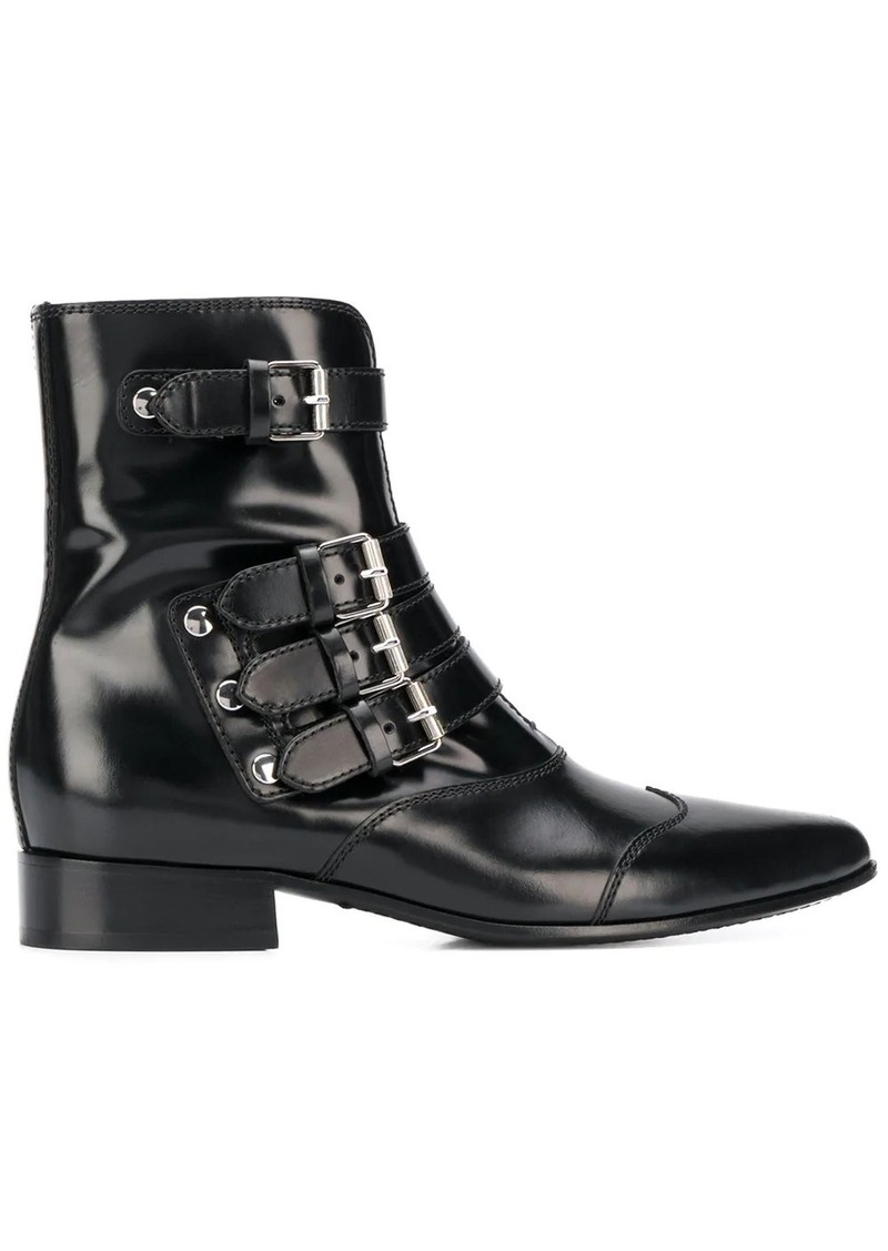 Givenchy multi-strap boots