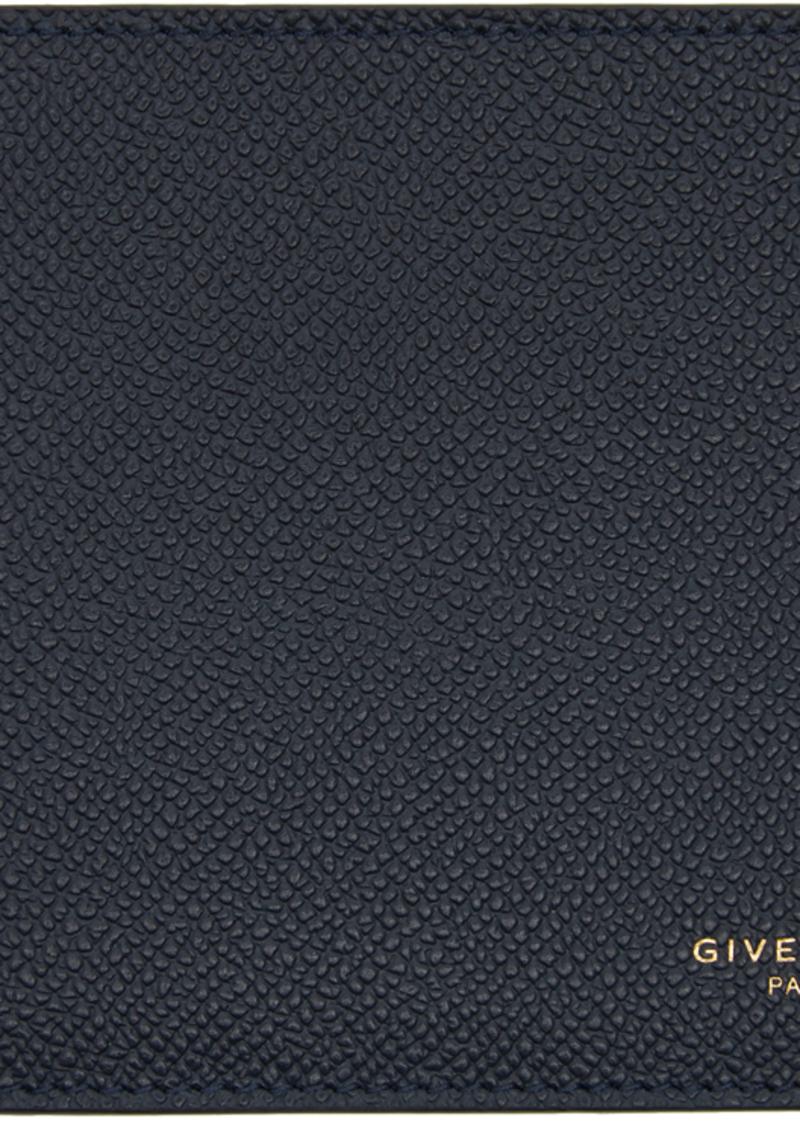 Givenchy Navy Bifold Wallet