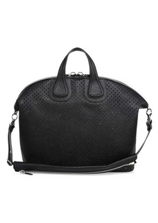 Givenchy Nightingale Perforated Leather Bag