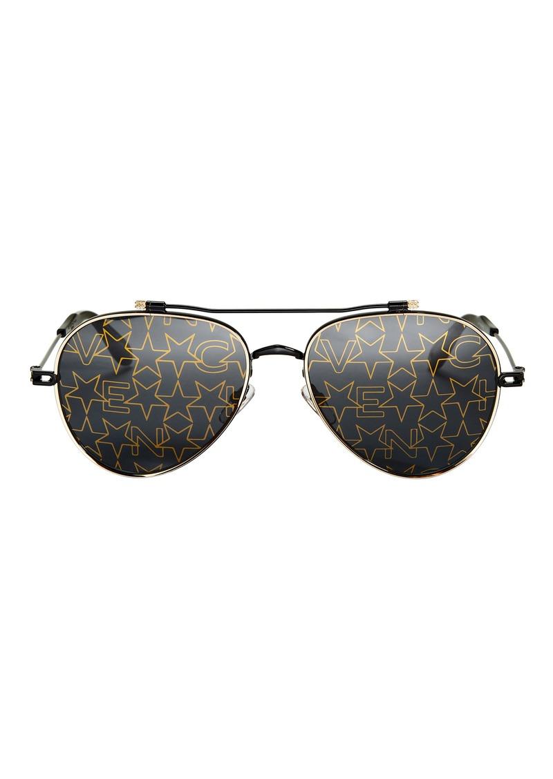 Givenchy Nude Star Aviator Sunglasses