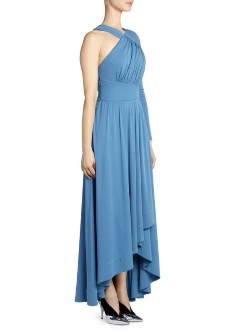 bdc3c5f8e6f Givenchy One-Shoulder Gathered Waist Gown