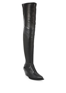 Givenchy Over-the-Knee Leather Boots