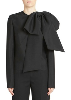 Givenchy Oversized Bow Top