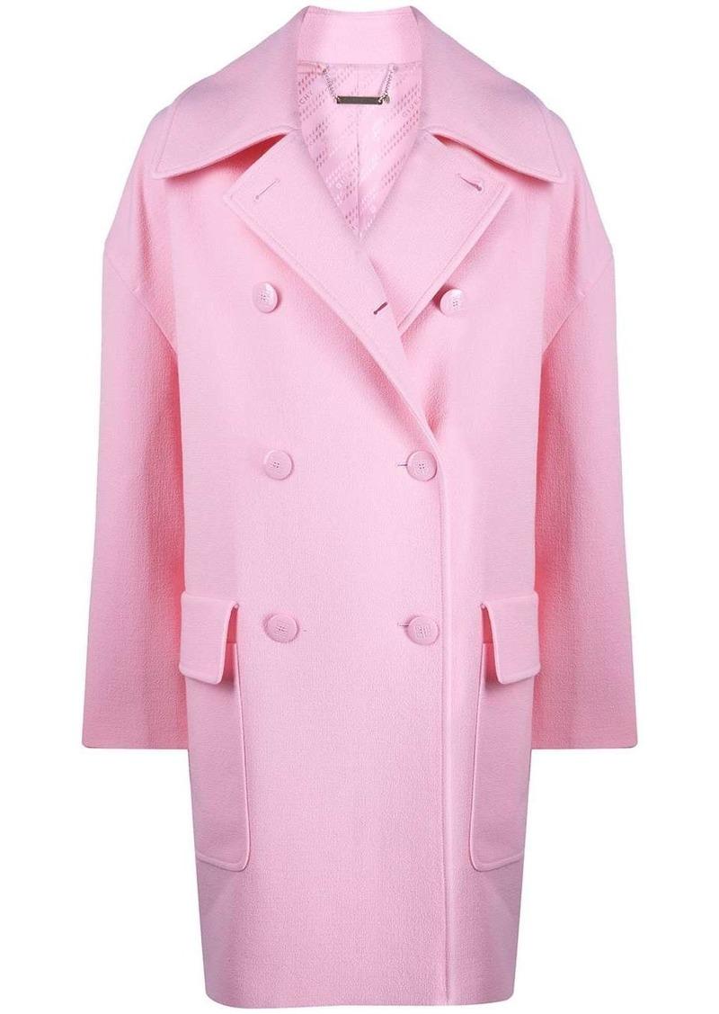 Givenchy oversized double-breasted coat