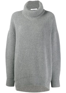 Givenchy oversized funnel neck sweater