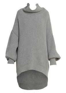 Givenchy Oversized Ribbed Turtleneck Knit