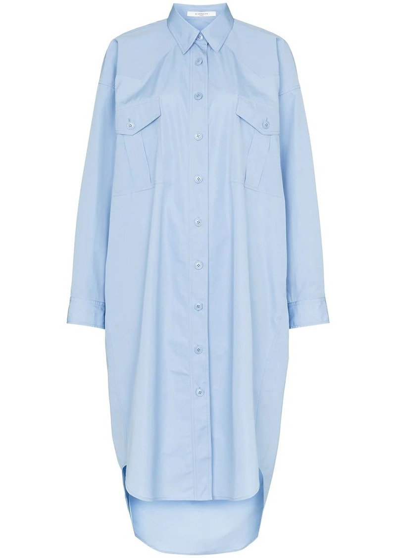 Givenchy oversized shirt dress