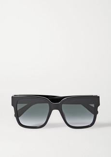 Givenchy Oversized Square-frame Acetate Sunglasses