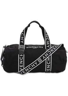 Givenchy Packable Nylon Duffle Bag W/logo
