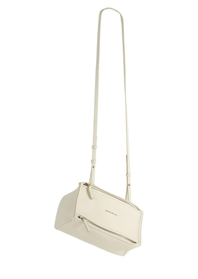 a8e8c150a9e6f Givenchy Pandora Mini Leather Shoulder Bag | Handbags