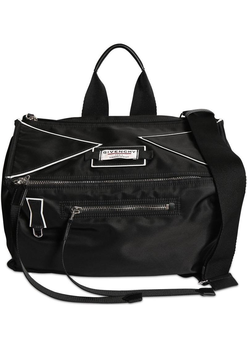 Givenchy Pandora Nylon Bag W/logo Patch