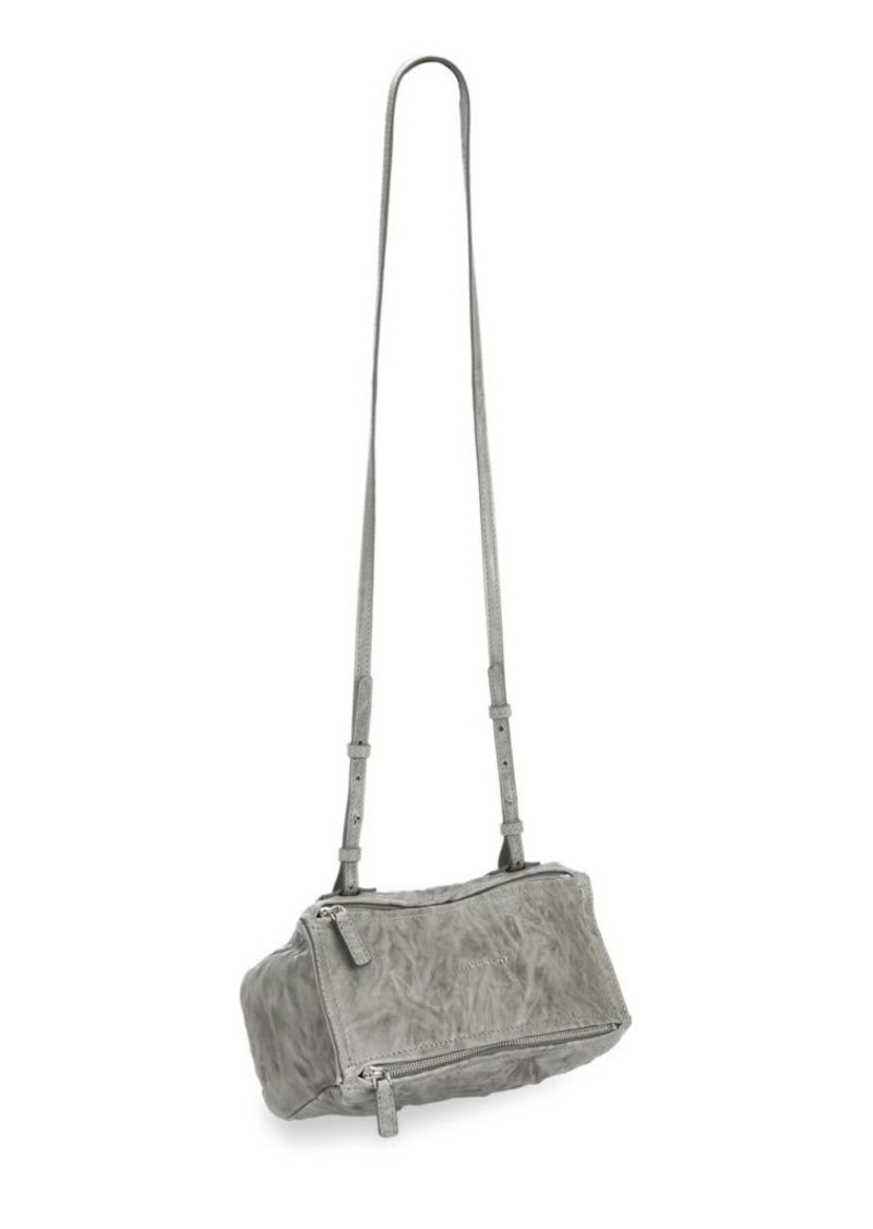 e343fd27e07 Givenchy Pandora Pepe Mini Leather Crossbody Bag